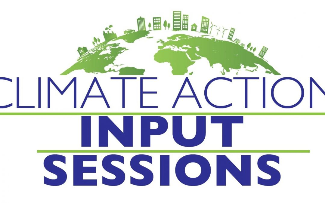 Climate Action Input Sessions